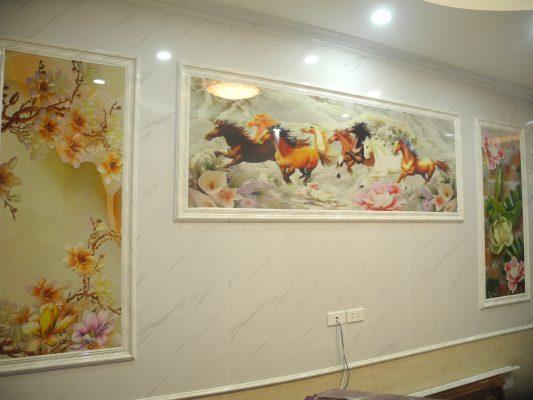 nhựa ốp tường tại nhà chị Xuân huyện Hoằng Hóa