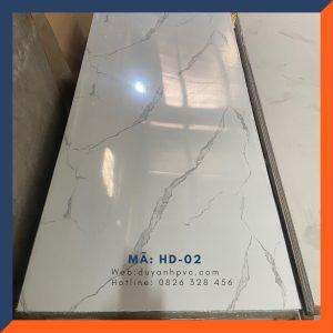 Tấm ốp tường PVC vân đá HD02