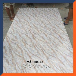 Tấm ốp tường PVC vân đá HD036