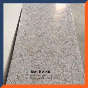 Tấm ốp tường PVC vân đá HD040