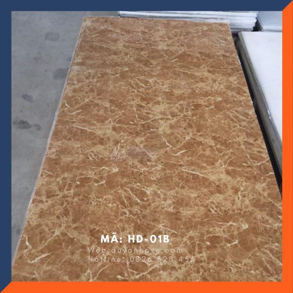 Tấm ốp tường PVC vân đá HD01B
