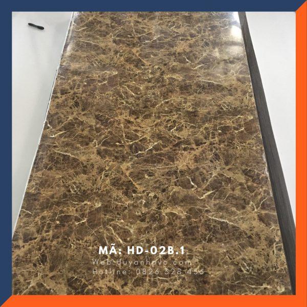Tấm ốp tường PVC vân đá HD02B.1