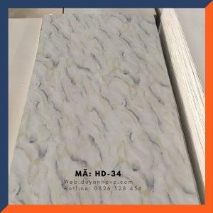 Tấm ốp tường PVC vân đá HD034