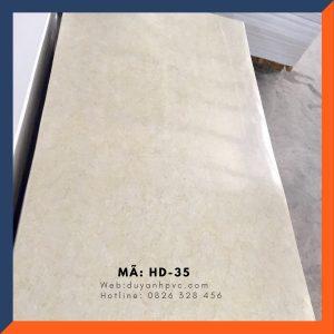 Tấm ốp tường PVC vân đá HD035